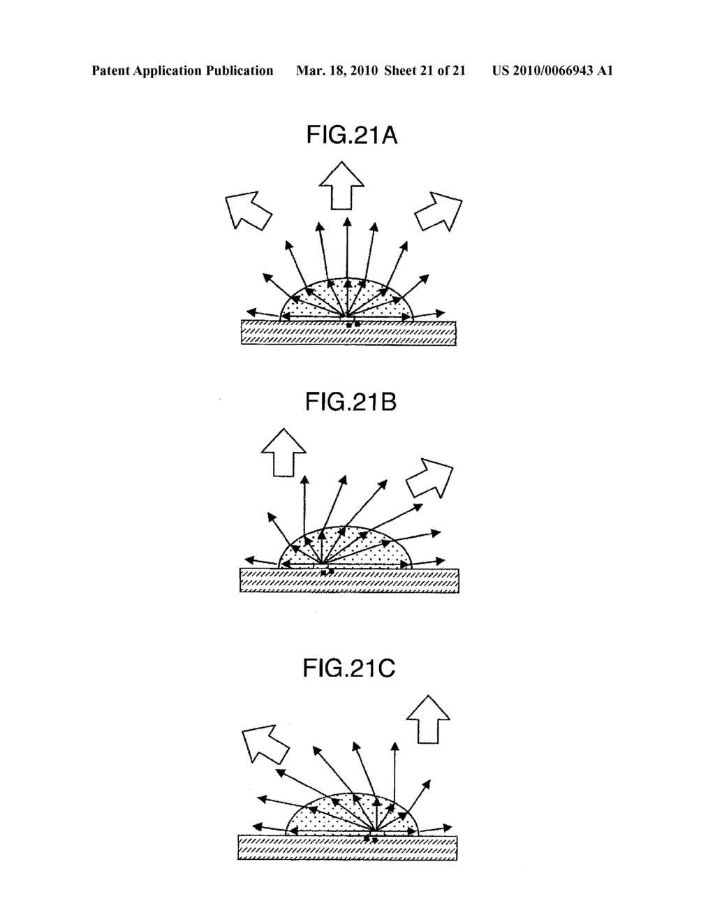 BACK LIGHT DEVICE, LIQUID CRYSTAL DISPLAY APPARATUS AND IMAGE DISPLAY APPARATUS USING THE SAME - diagram, schematic, and image 22
