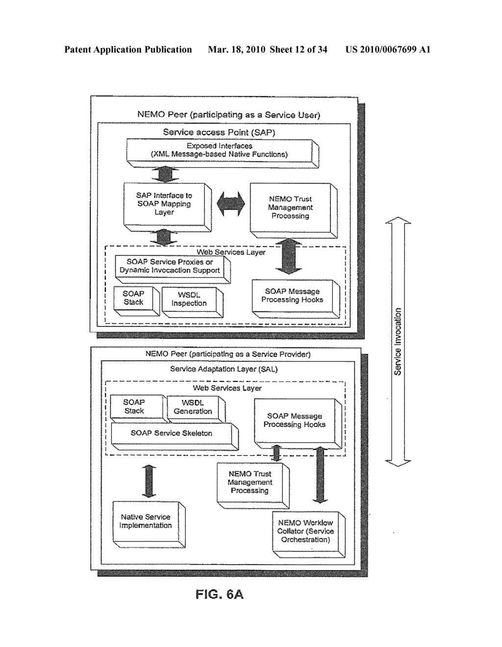 INTEROPERABLE SYSTEMS AND METHODS FOR PEER-TO-PEER SERVICE ORCHESTRATION - diagram, schematic, and image 13