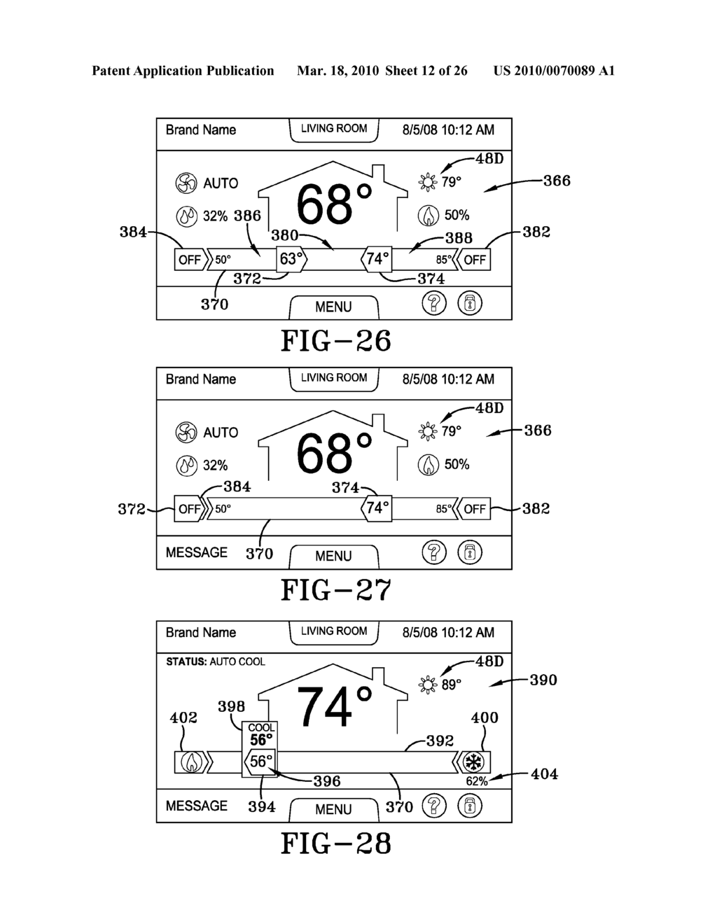 HVAC CONTROLLER USER INTERFACES - diagram, schematic, and image 13