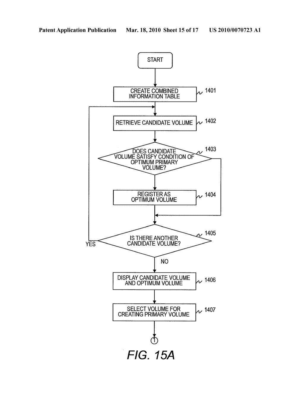 STORAGE AREA MANAGEMENT METHOD FOR CREATING COPY PAIR - diagram, schematic, and image 16