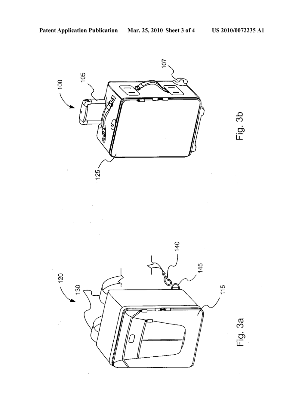 Suitcase with Integrated Pull-Out Carrier - diagram, schematic, and image 04