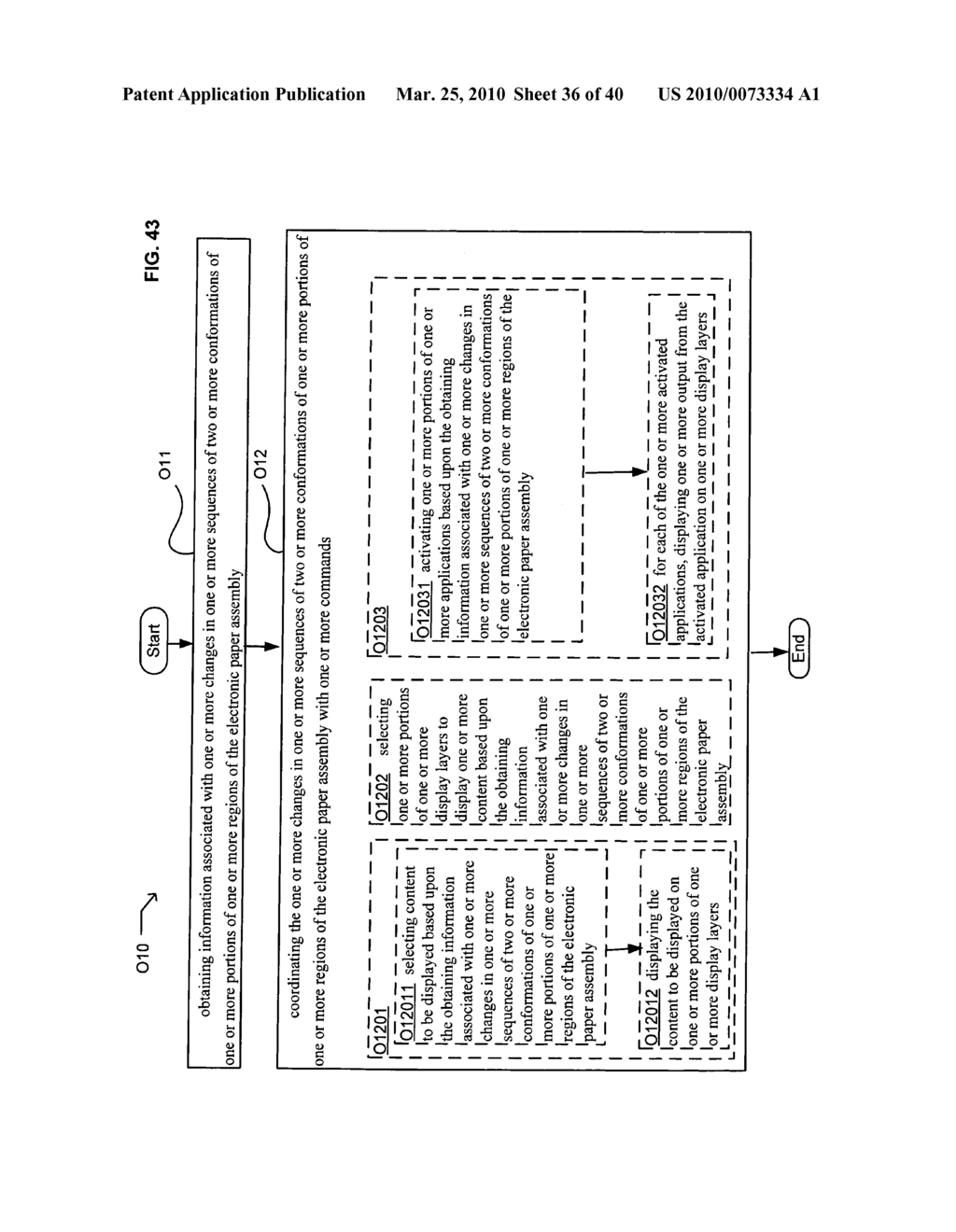 E-paper application control based on conformation sequence status - diagram, schematic, and image 37