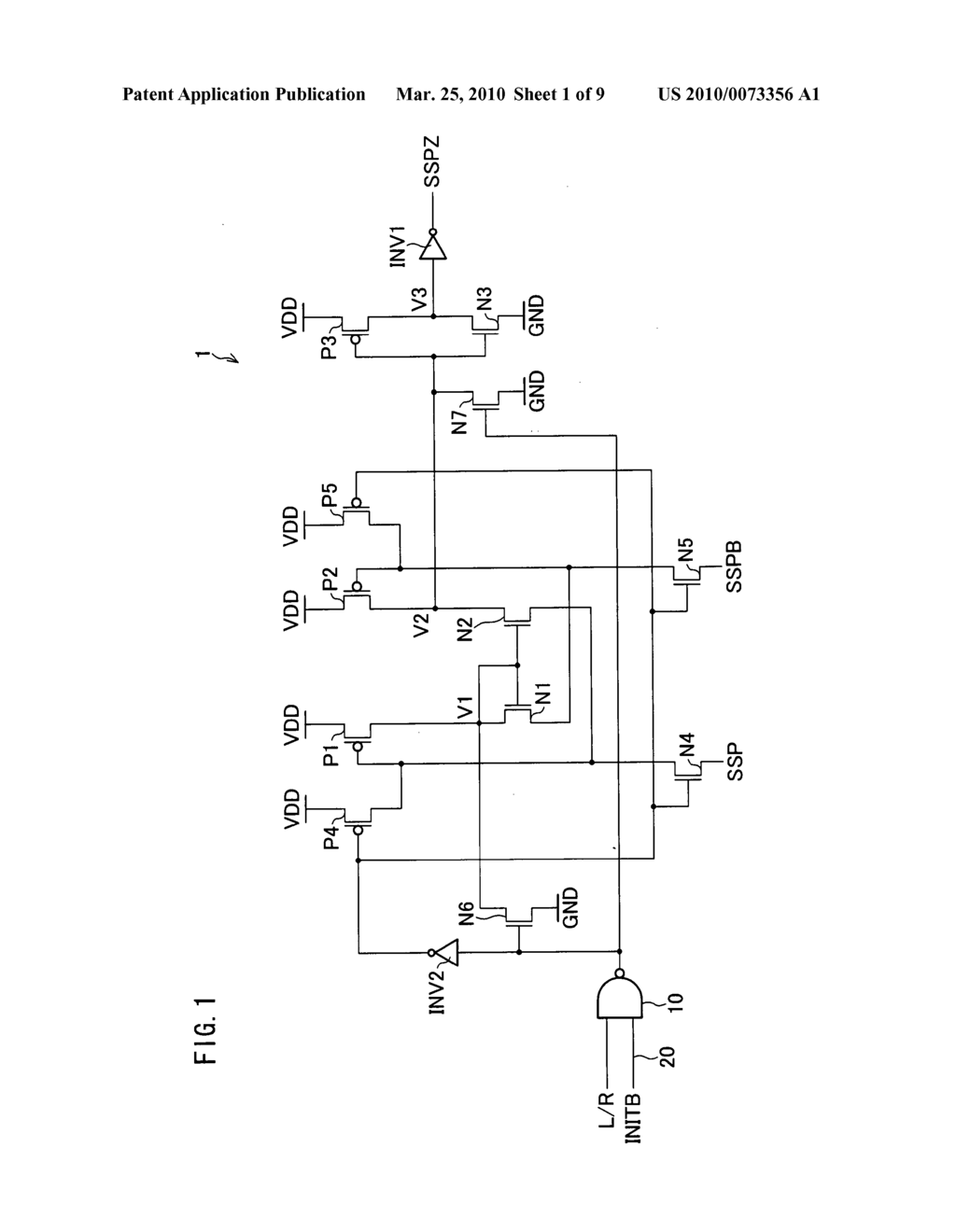 Level shifter, shift register with level shifter, and display device with shift register - diagram, schematic, and image 02