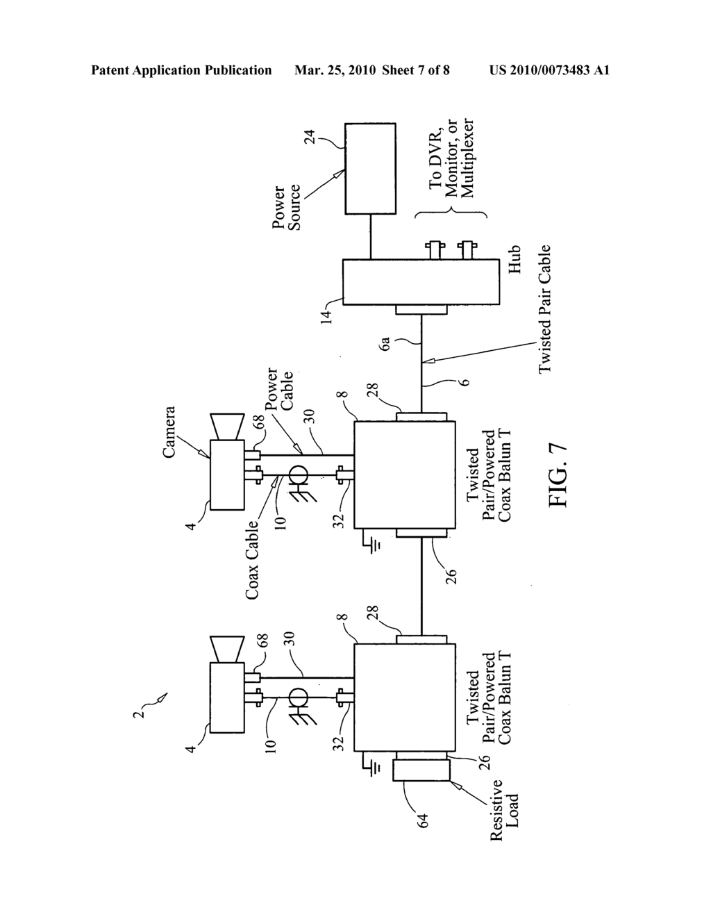 System And Method For Transmitting Video From Multiple Cameras Circuit Diagram Camera Over A Single Pair Twisted Cable Schematic Image 08