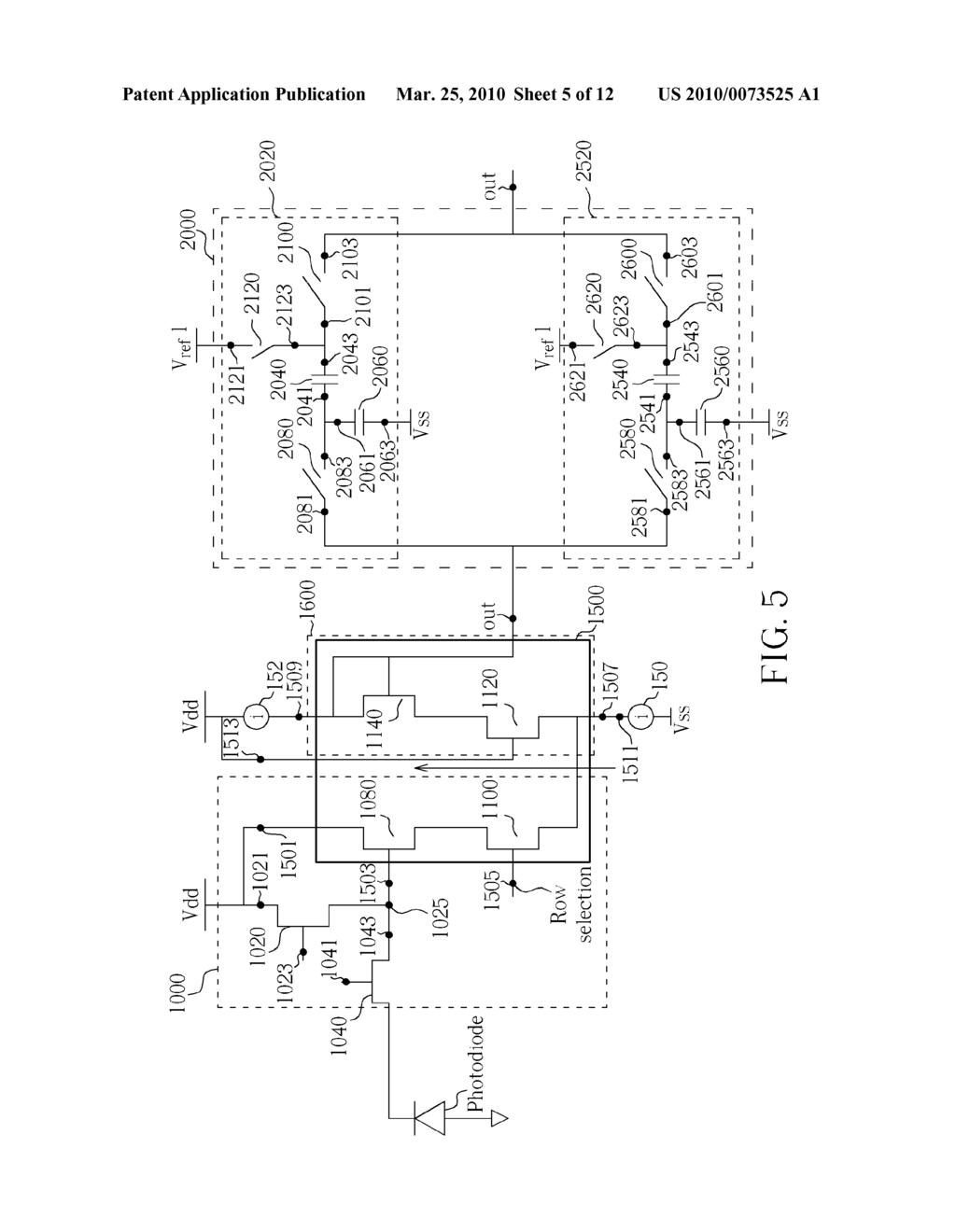 IMAGE PROCESSING SYSTEM WITH A 4-T PIXEL AND METHOD THEREOF CAPABLE OF REDUCING FIXED PATTERN NOISE - diagram, schematic, and image 06