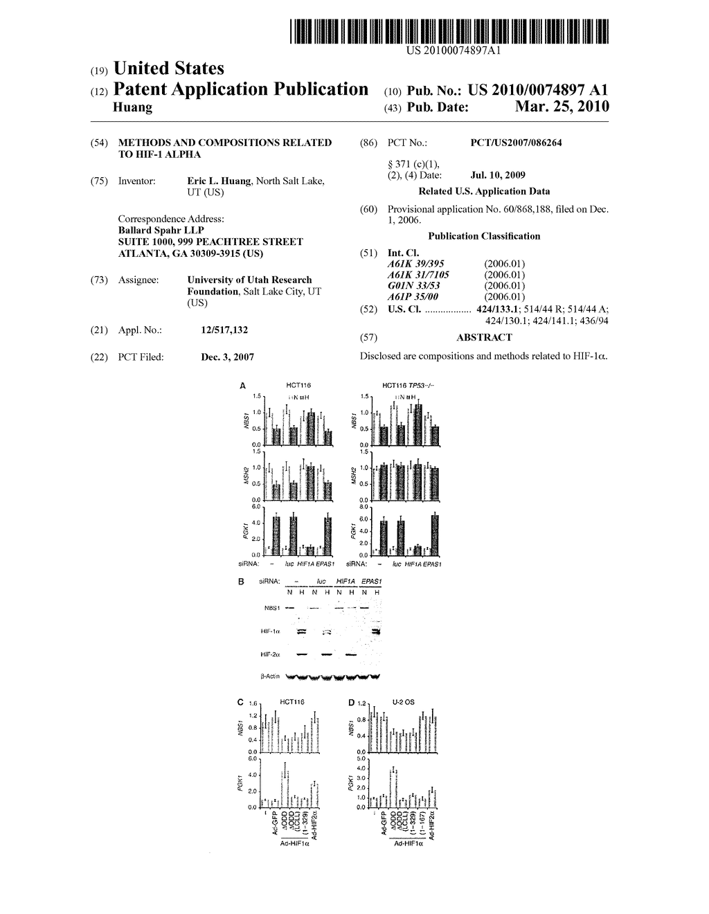 Methods and Compositions related to HIF-1 alpha - diagram, schematic, and image 01
