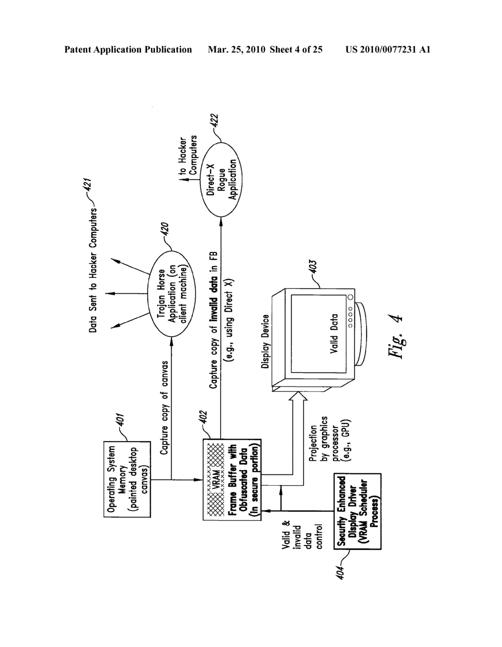 METHOD AND SYSTEM FOR MAINTAINING SECURE DATA INPUT AND OUTPUT - diagram, schematic, and image 05