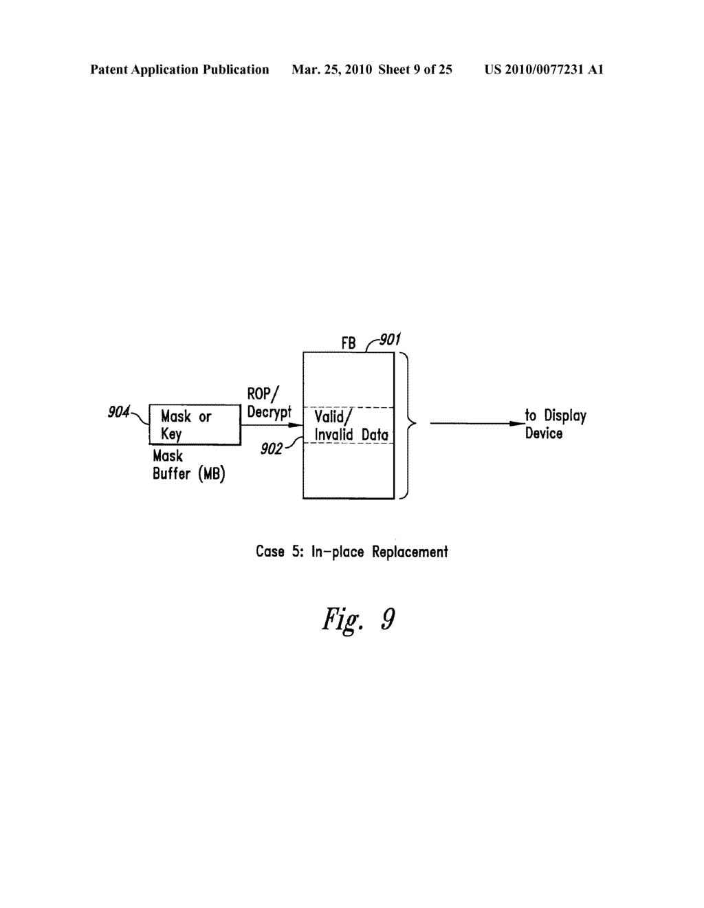 METHOD AND SYSTEM FOR MAINTAINING SECURE DATA INPUT AND OUTPUT - diagram, schematic, and image 10