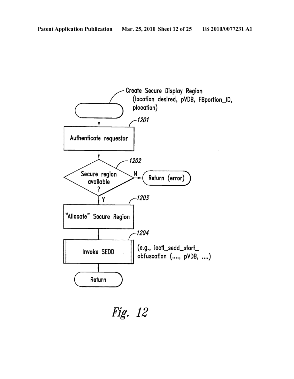 METHOD AND SYSTEM FOR MAINTAINING SECURE DATA INPUT AND OUTPUT - diagram, schematic, and image 13