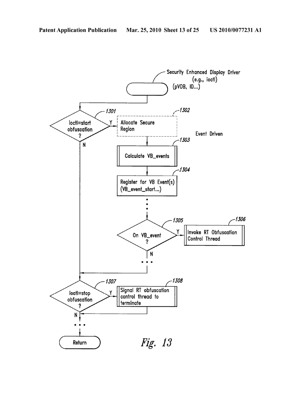 METHOD AND SYSTEM FOR MAINTAINING SECURE DATA INPUT AND OUTPUT - diagram, schematic, and image 14