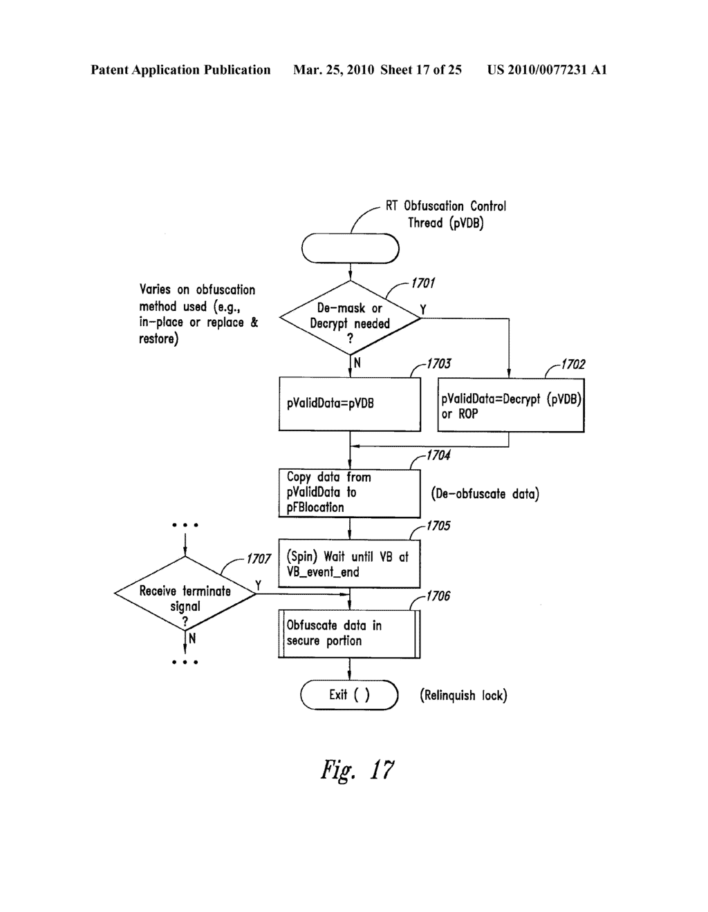 METHOD AND SYSTEM FOR MAINTAINING SECURE DATA INPUT AND OUTPUT - diagram, schematic, and image 18