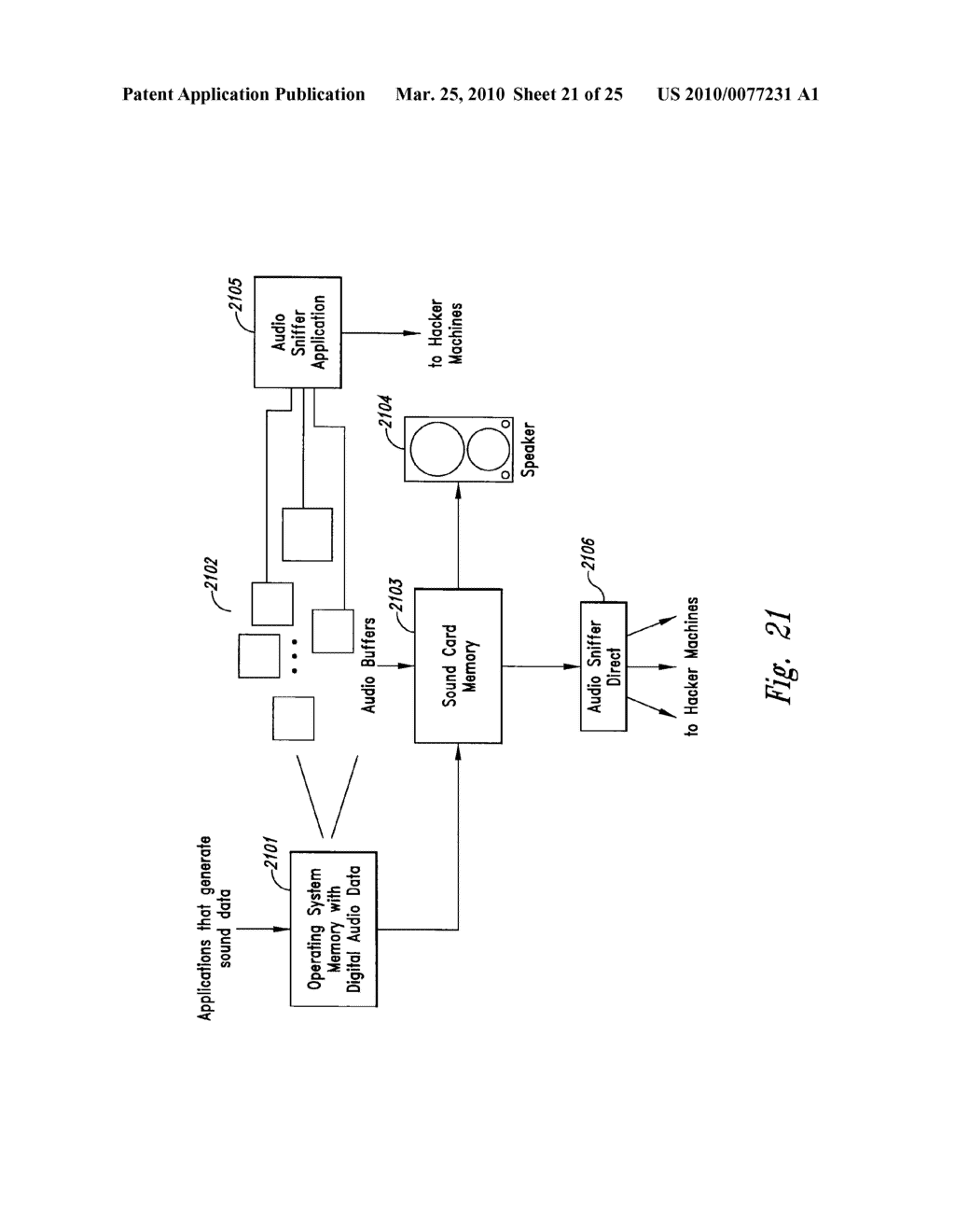 METHOD AND SYSTEM FOR MAINTAINING SECURE DATA INPUT AND OUTPUT - diagram, schematic, and image 22