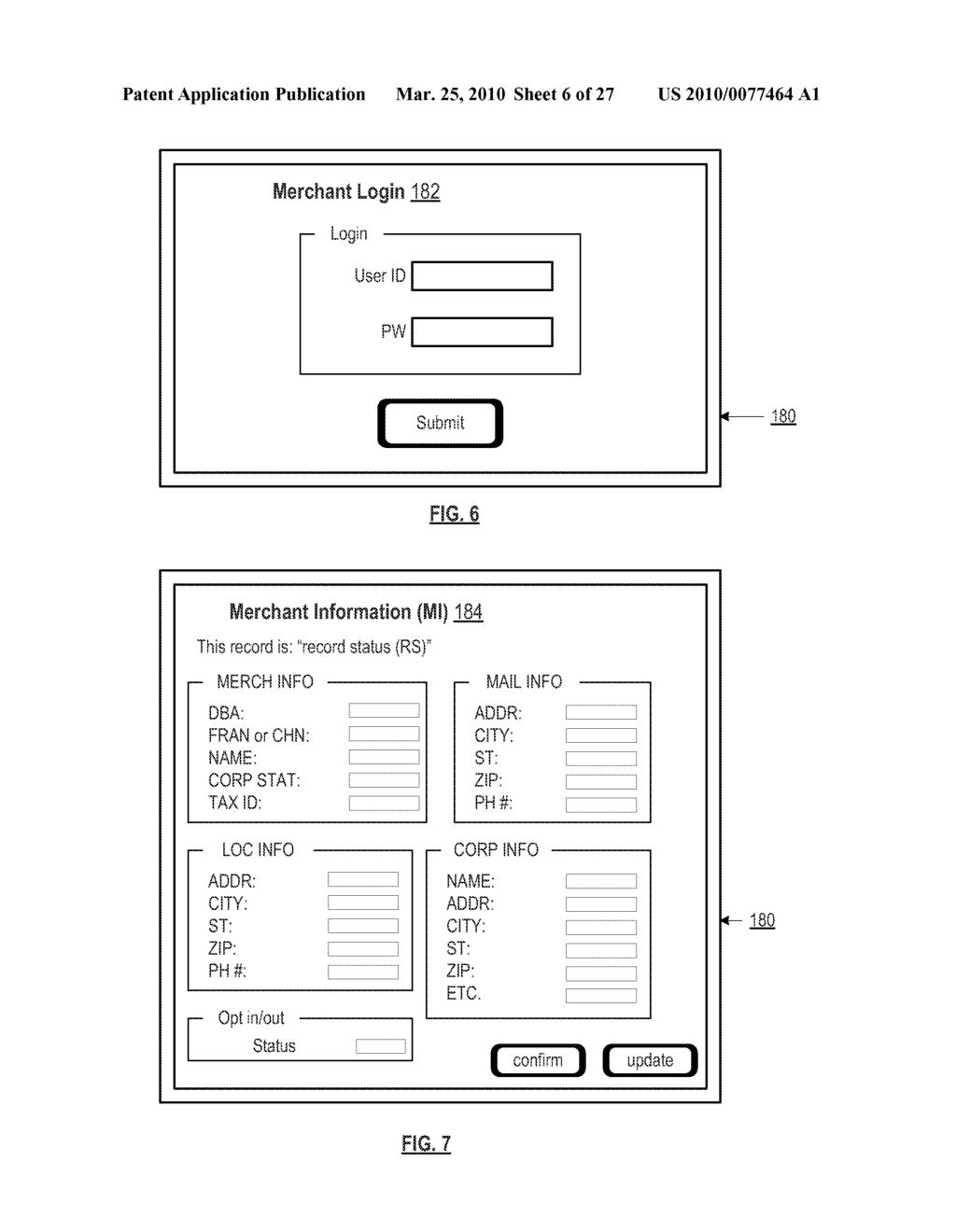 MERCHANT DEVICE AND METHOD FOR SUPPORT OF MERCHANT DATA PROCESSING - diagram, schematic, and image 07