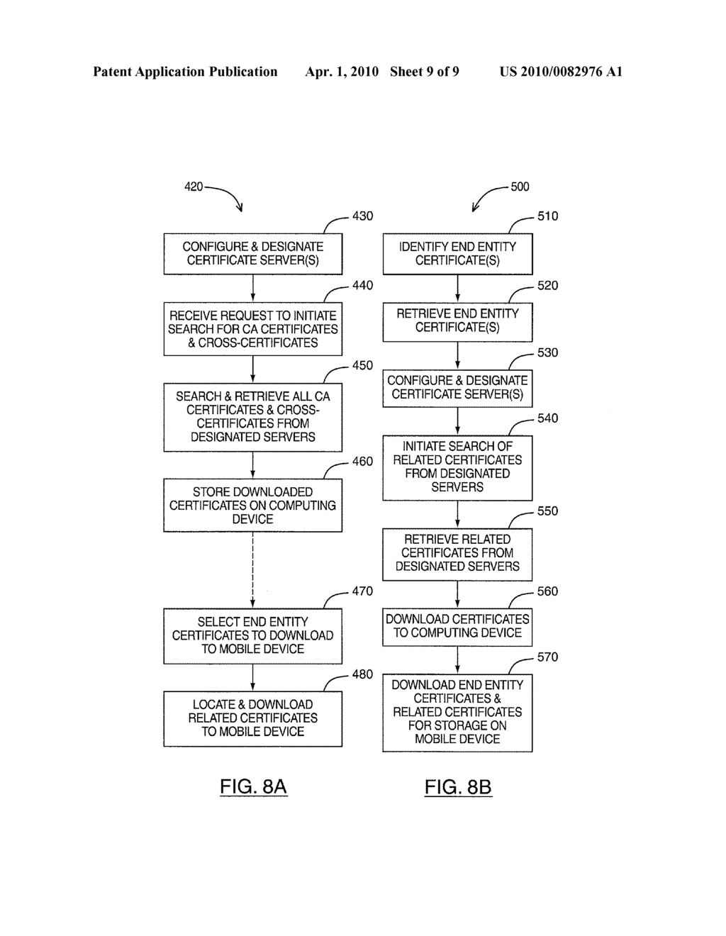 SYSTEM AND METHOD FOR RETRIEVING RELATED CERTIFICATES - diagram, schematic, and image 10