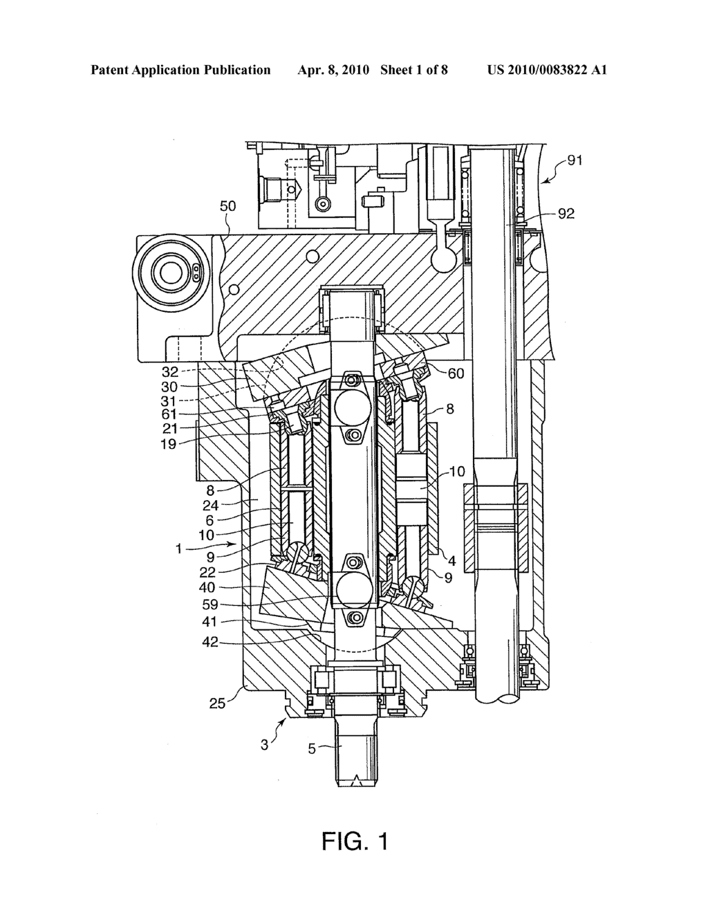 OPPOSING SWASH PLATE PISTON PUMP/MOTOR - diagram, schematic, and image 02