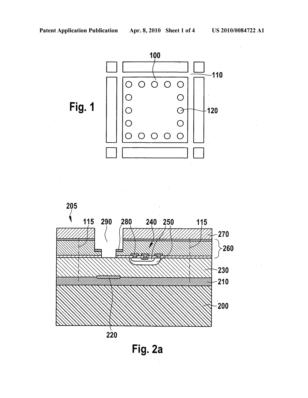 Method for manufacturing a micromechanical chip and a component having a chip of this type - diagram, schematic, and image 02