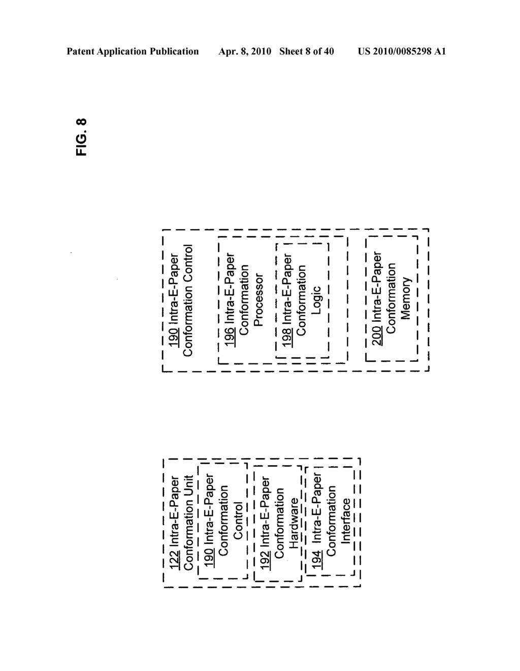 E-paper display control based on conformation sequence status - diagram, schematic, and image 09