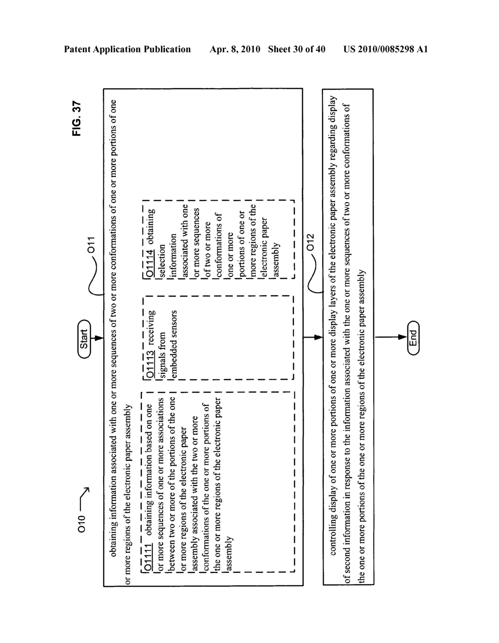 E-paper display control based on conformation sequence status - diagram, schematic, and image 31