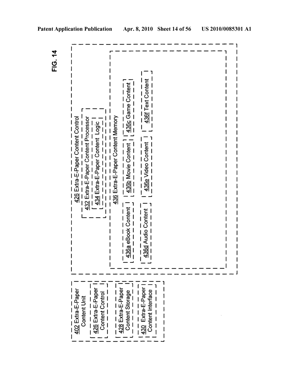 Bendable electronic interface external control system and method - diagram, schematic, and image 15