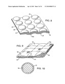 Flexible Energy Absorbing Material and Methods of Manufacture Thereof diagram and image