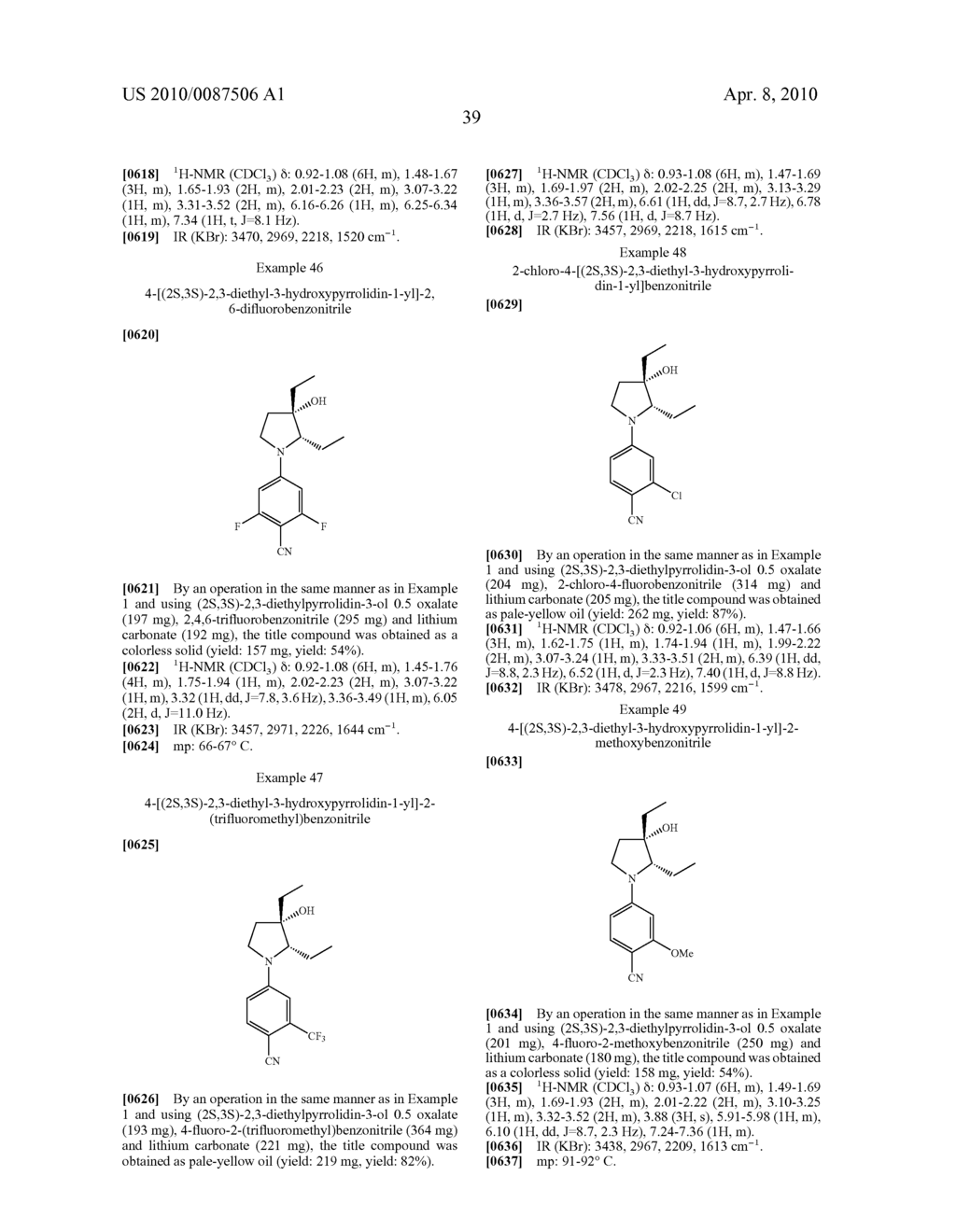 CYCLIC AMINE COMPOUND - diagram, schematic, and image 40