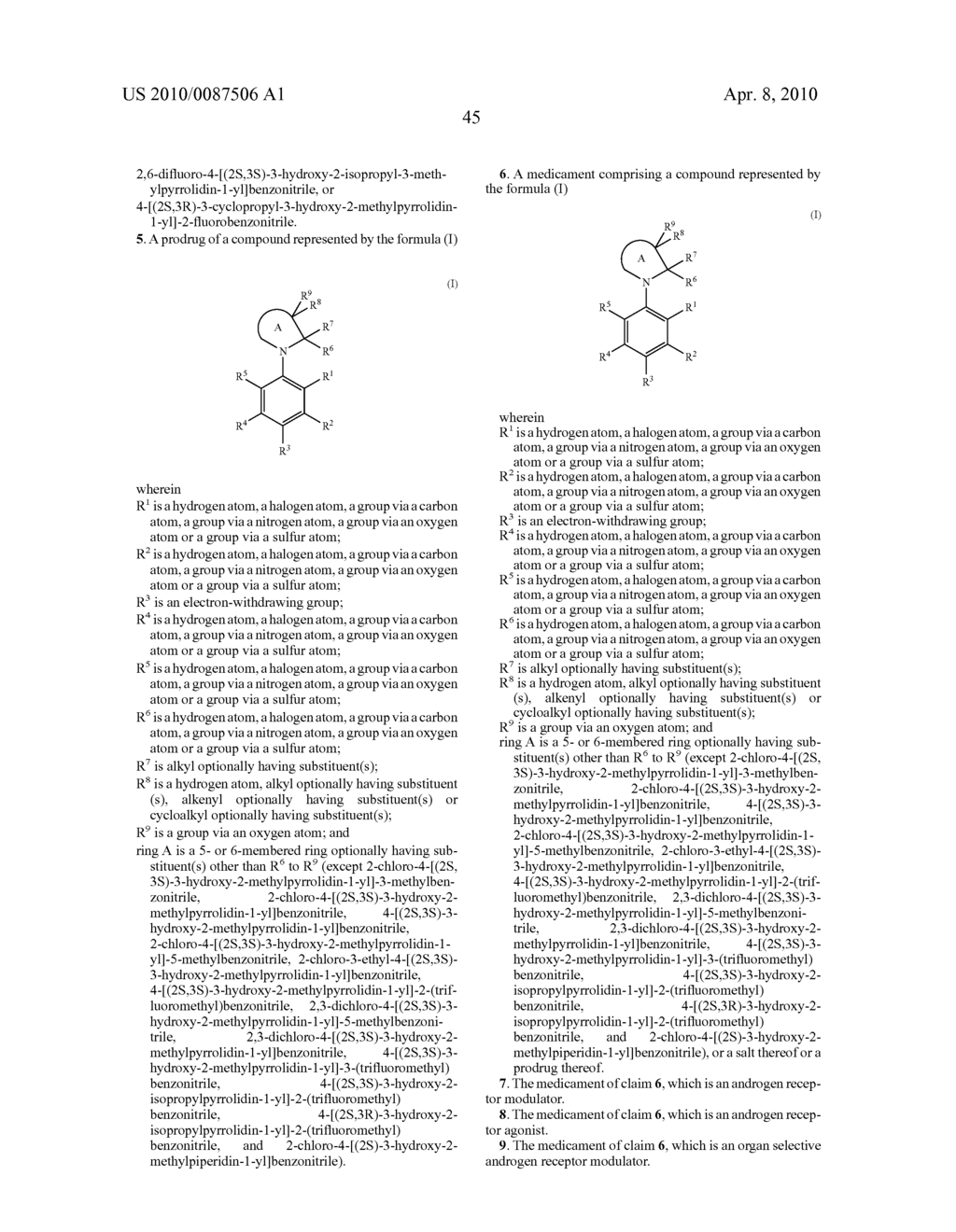 CYCLIC AMINE COMPOUND - diagram, schematic, and image 46