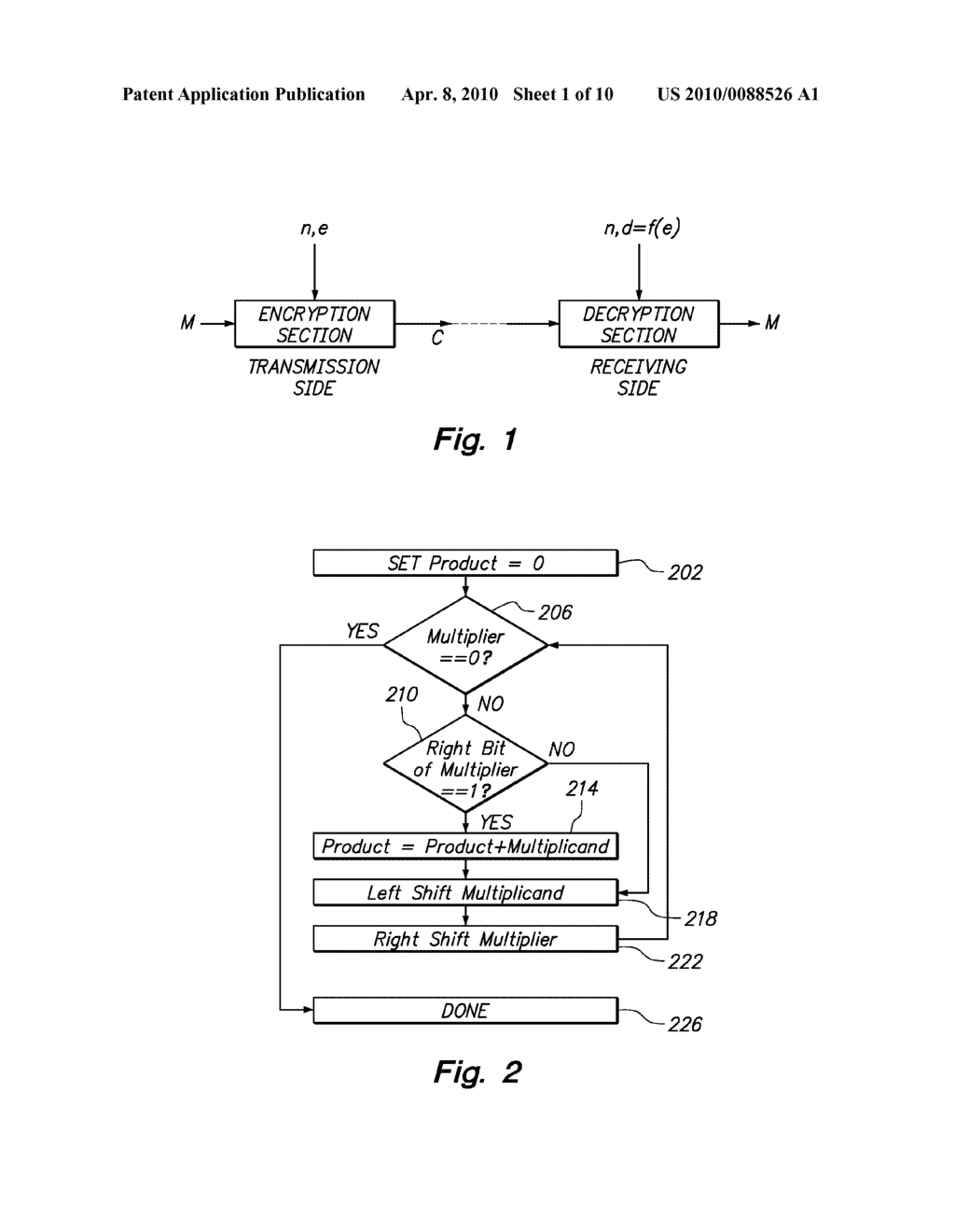 System and Method for Modular Exponentiation - diagram, schematic, and image 02