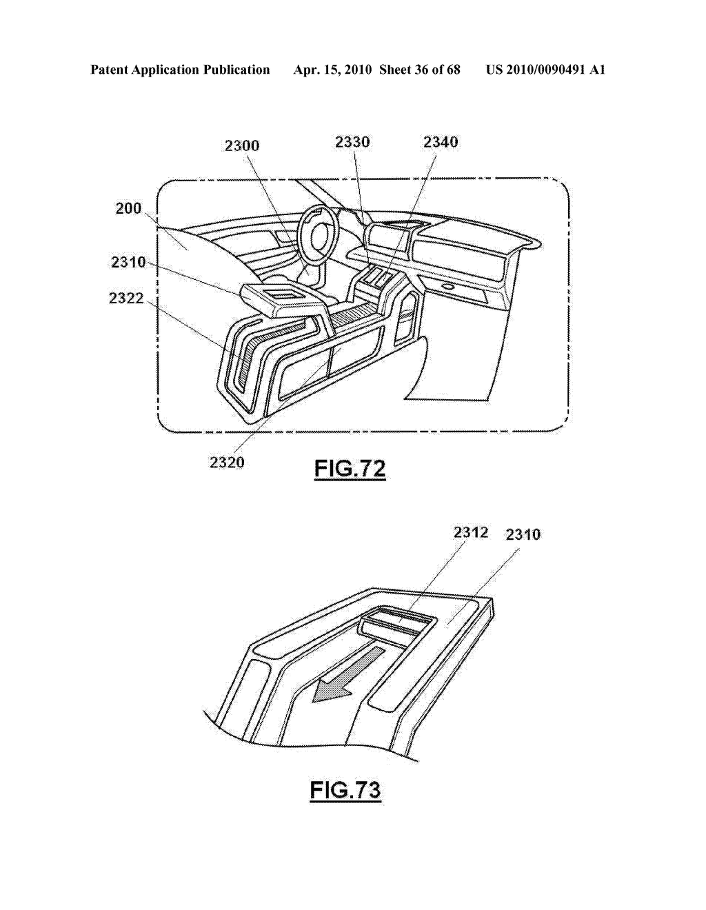 VEHICLE FLOOR CONSOLE - diagram, schematic, and image 37