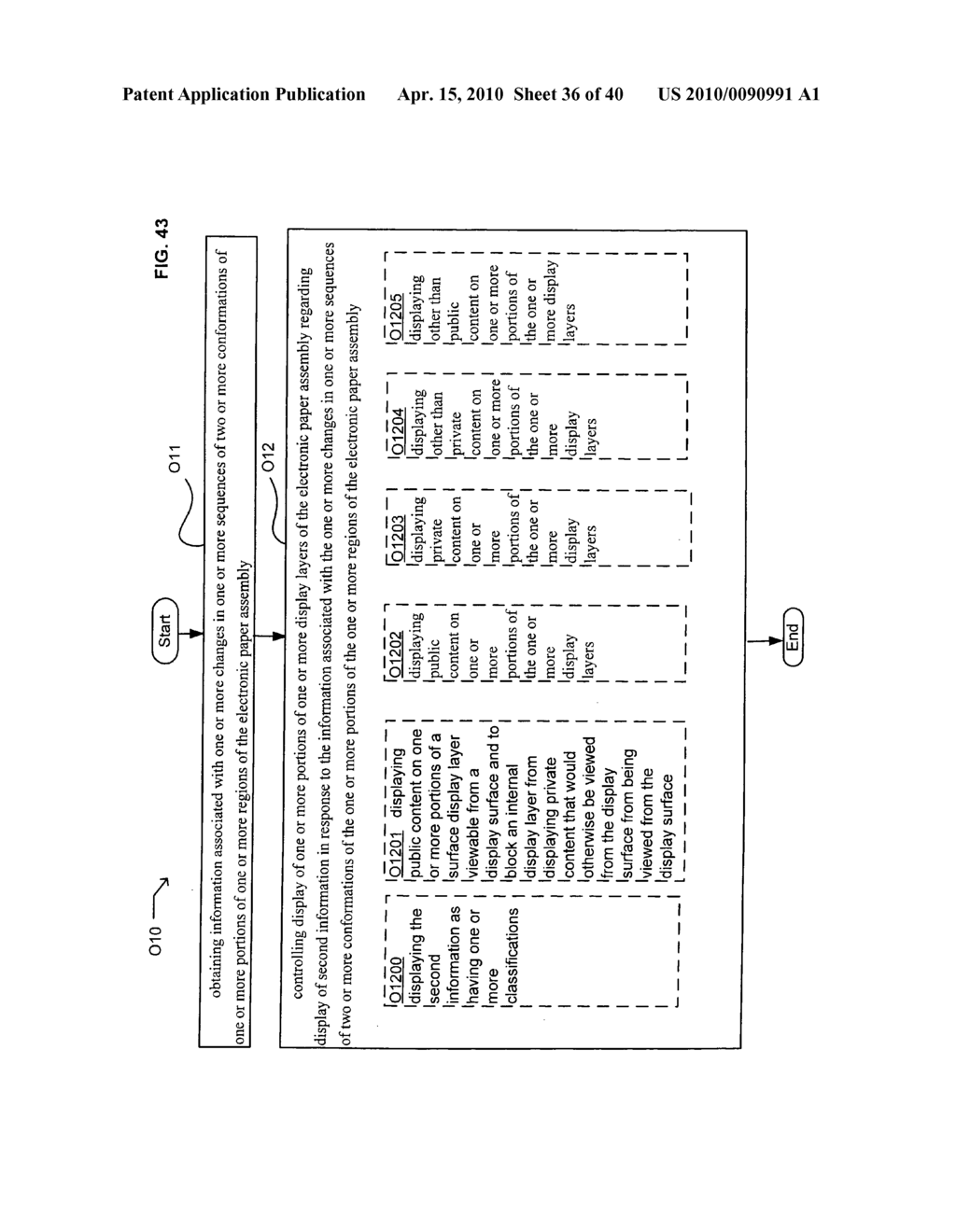E-Paper display control based on conformation sequence status - diagram, schematic, and image 37