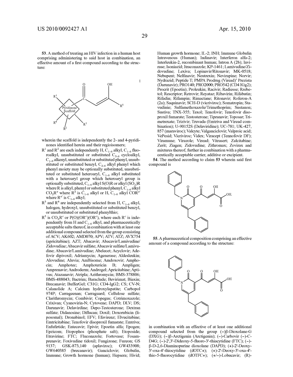 Pyridinone Diketo Acids: Inhibitors of HIV Replication in Combination Therapy - diagram, schematic, and image 30