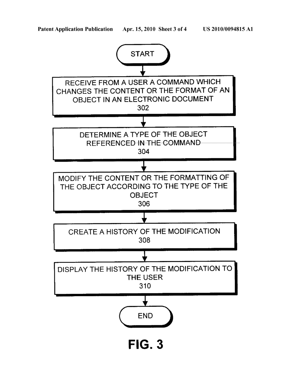 Method and apparatus for performing type-aware change tracking in a document - diagram, schematic, and image 04