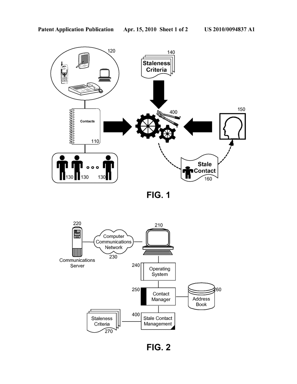 RELATIONSHIP MANAGEMENT FOR CONTACT STALENESS - diagram, schematic, and image 02