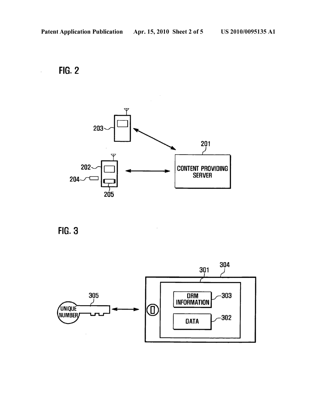 Method and system for processing forward- locked DRM contents, and portable device adapted thereto - diagram, schematic, and image 03