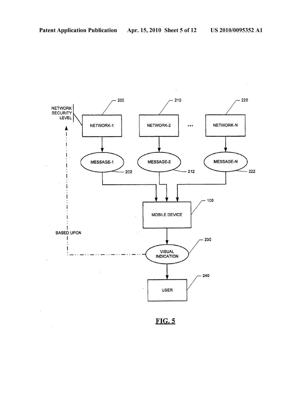 Message Service Indication System and Method - diagram, schematic, and image 06
