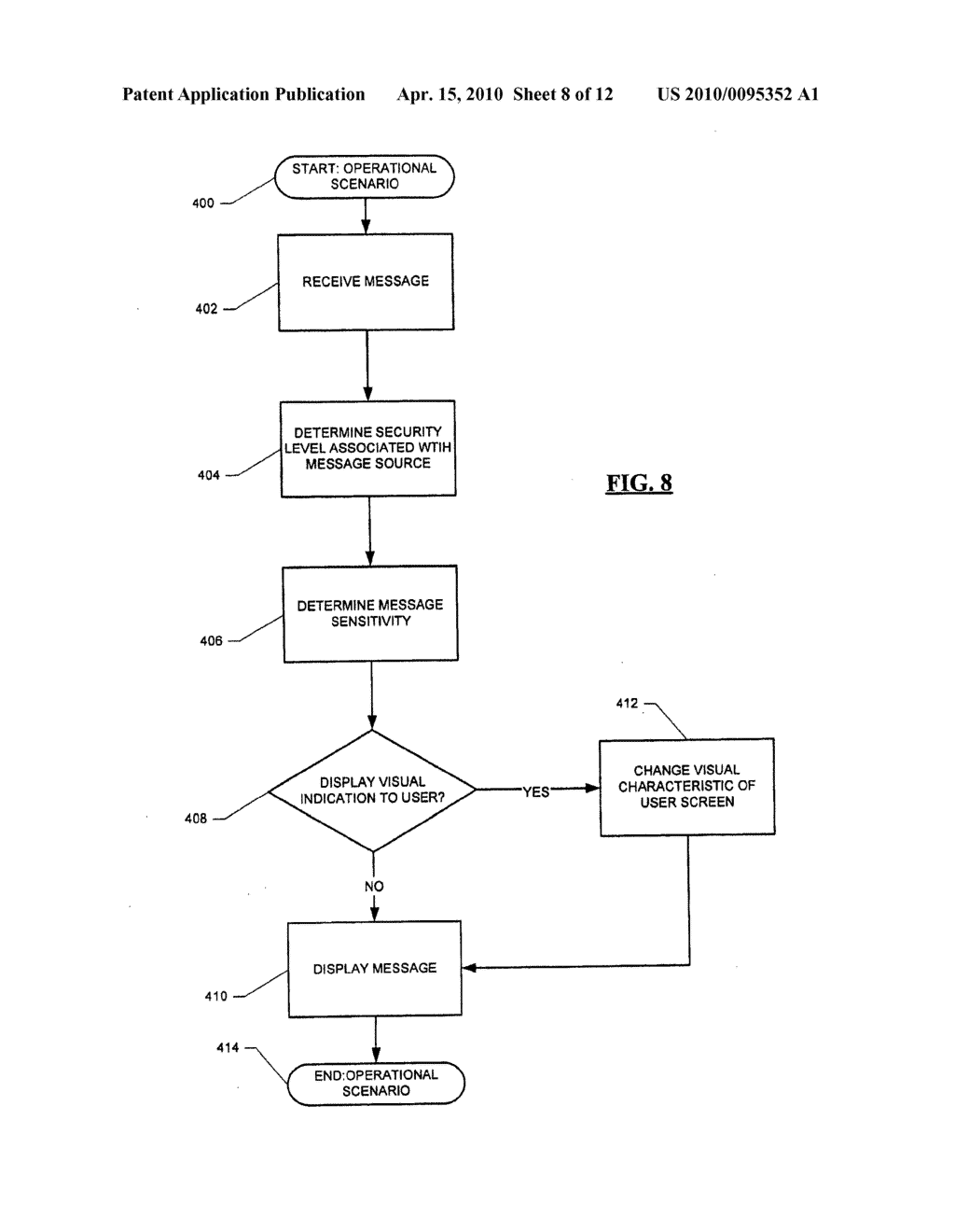 Message Service Indication System and Method - diagram, schematic, and image 09