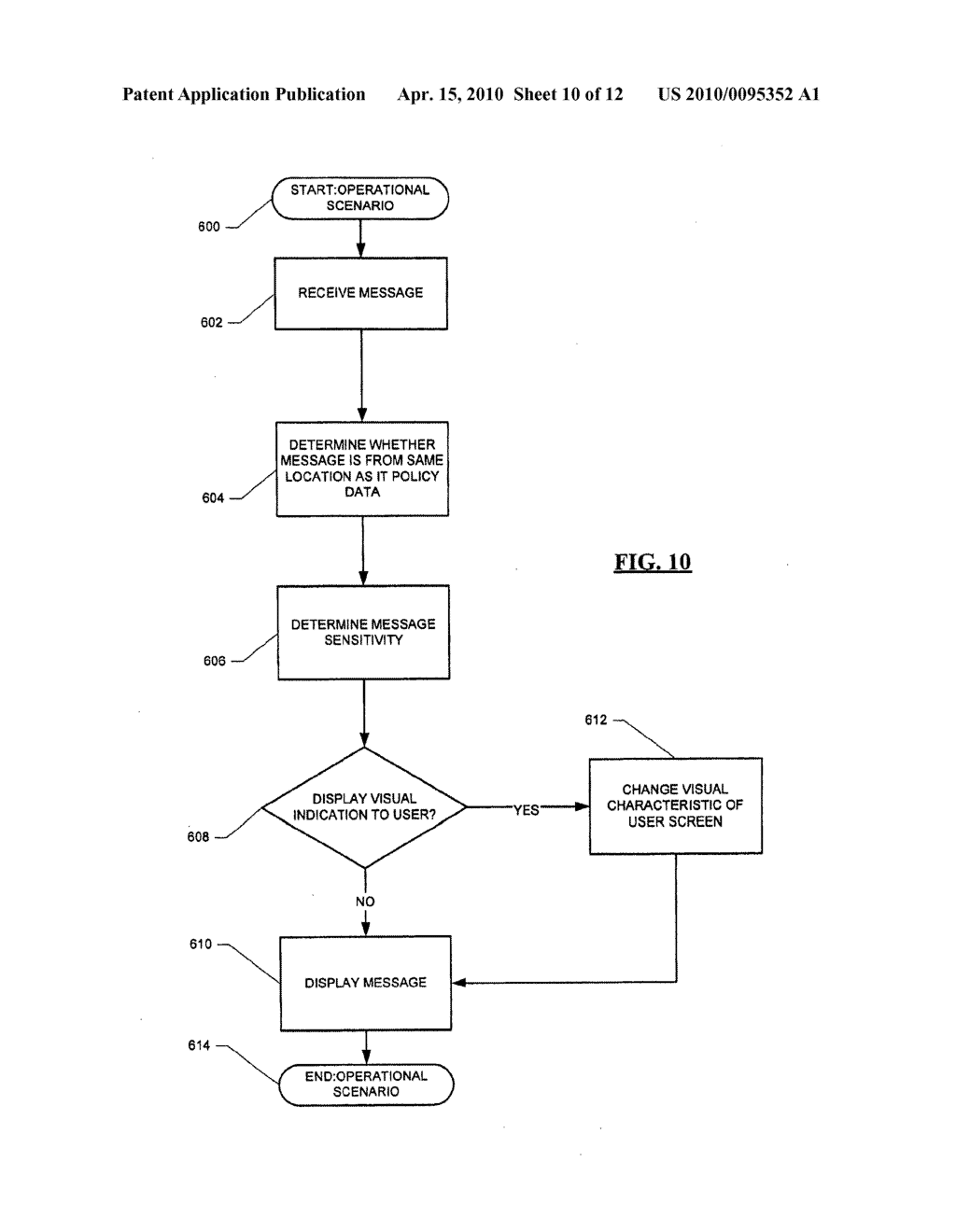 Message Service Indication System and Method - diagram, schematic, and image 11