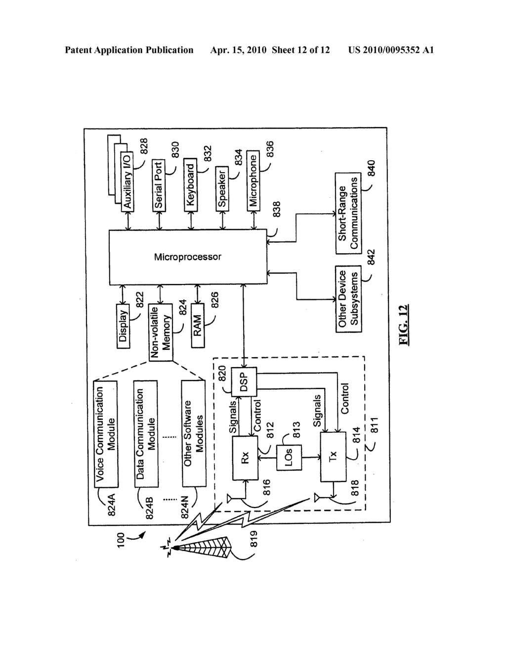 Message Service Indication System and Method - diagram, schematic, and image 13