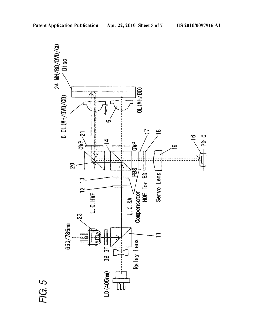 Optical Disk, Recording/Reproducing Method Thereof, and Optical Disk Apparatus with Employment of Optical Disk - diagram, schematic, and image 06