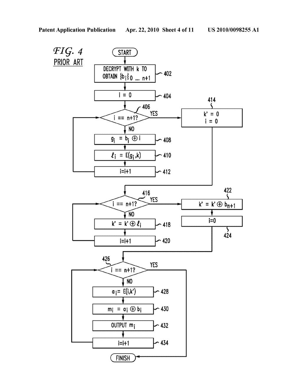 SYSTEM AND METHOD FOR A DERIVATION FUNCTION FOR KEY PER PAGE - diagram, schematic, and image 05