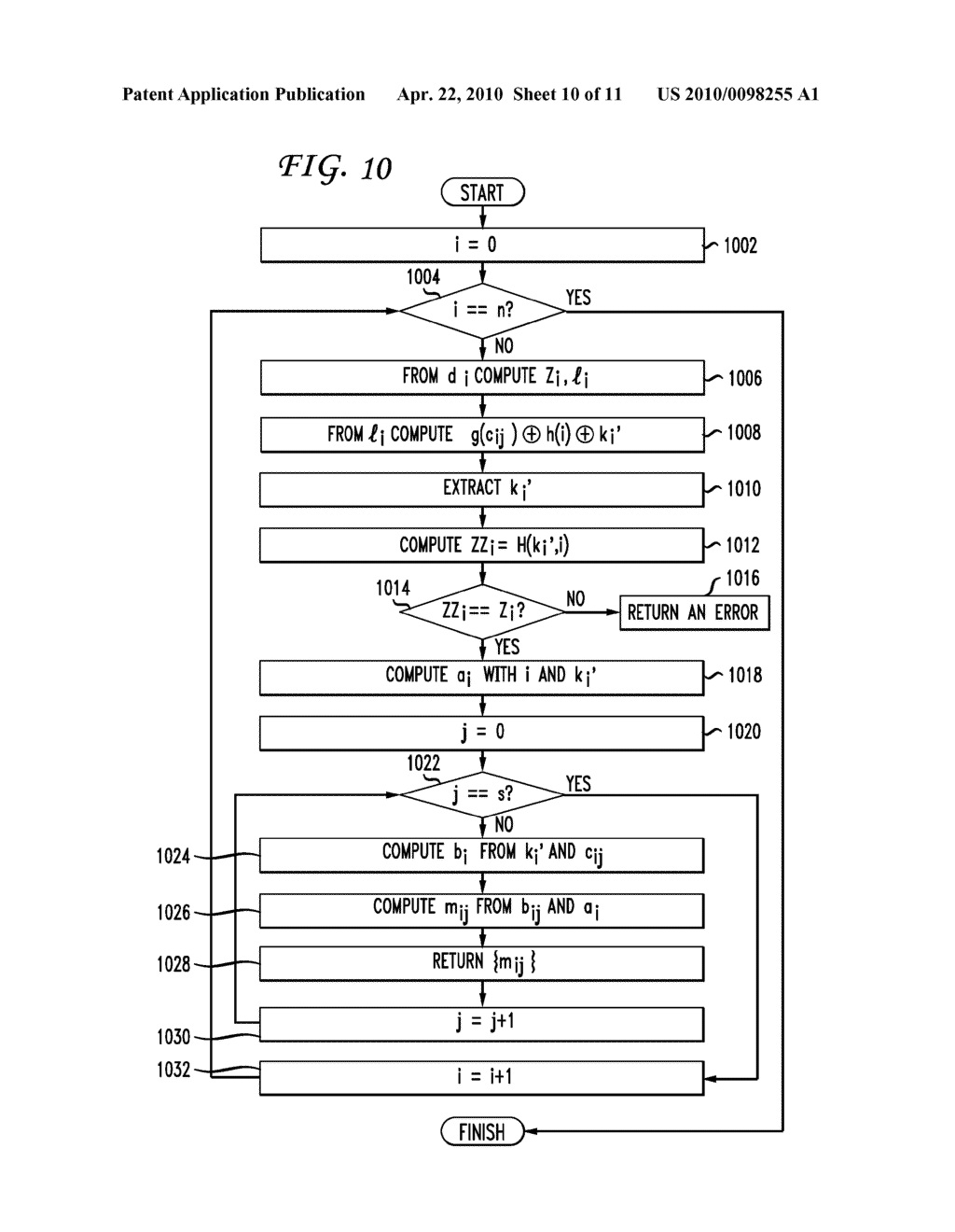 SYSTEM AND METHOD FOR A DERIVATION FUNCTION FOR KEY PER PAGE - diagram, schematic, and image 11