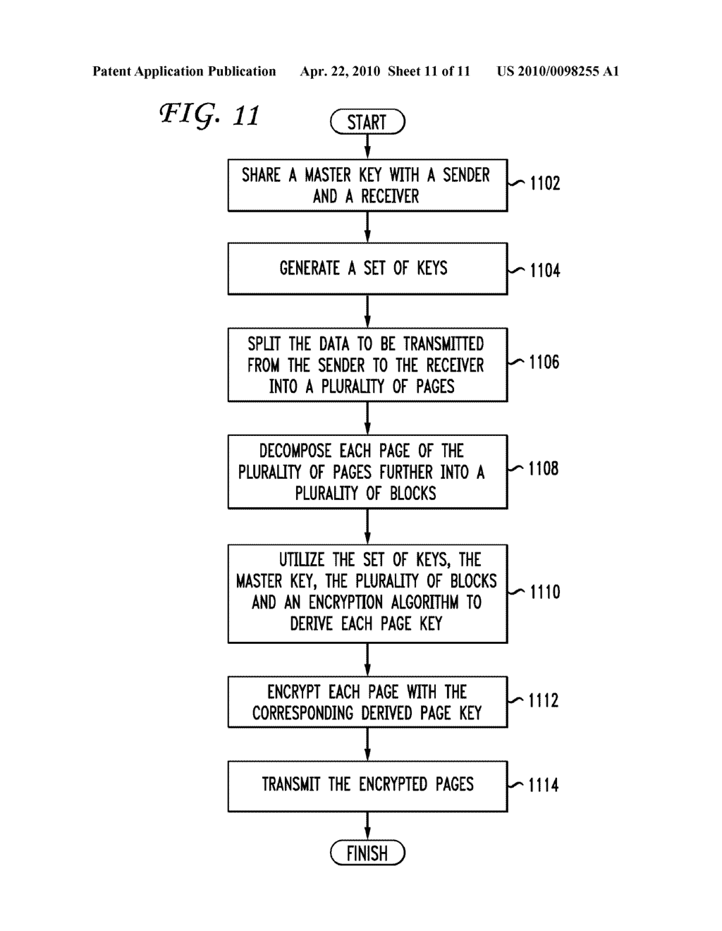 SYSTEM AND METHOD FOR A DERIVATION FUNCTION FOR KEY PER PAGE - diagram, schematic, and image 12