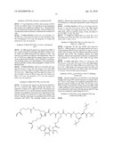 CARBAMATE, THIOCARBAMATE OR CARBAMIDE COMPRISING A BIOMOLECULAR MOIETY diagram and image