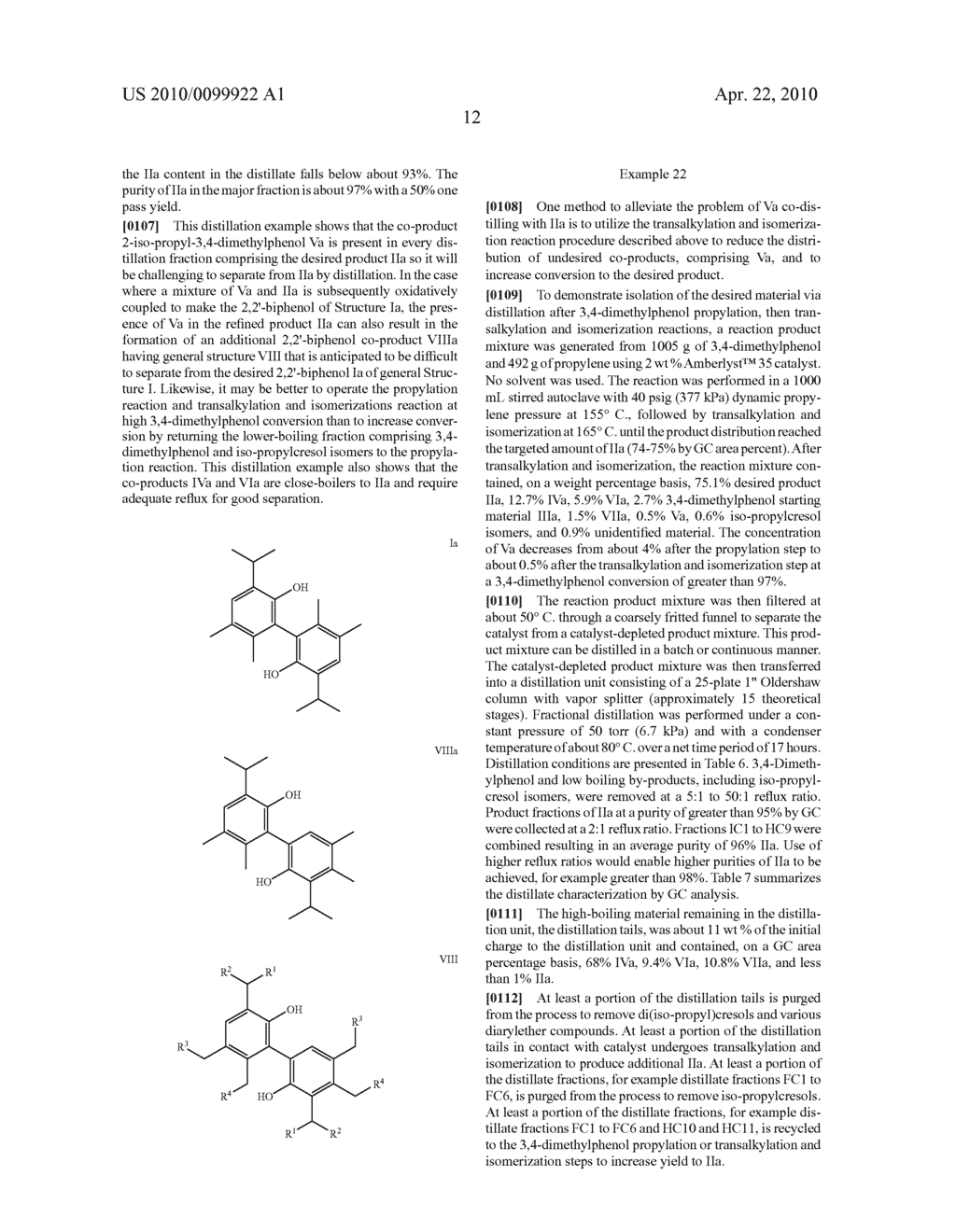 PROCESS FOR MAKING 2-SECONDARY-ALKYL-4,5-DI-(NORMAL-ALKYL)PHENOLS - diagram, schematic, and image 16