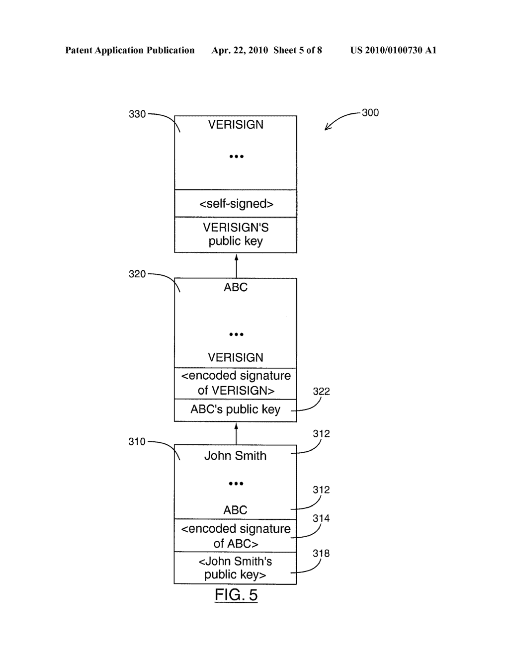 SYSTEM AND METHOD FOR SEARCHING AND RETRIEVING CERTIFICATES - diagram, schematic, and image 06