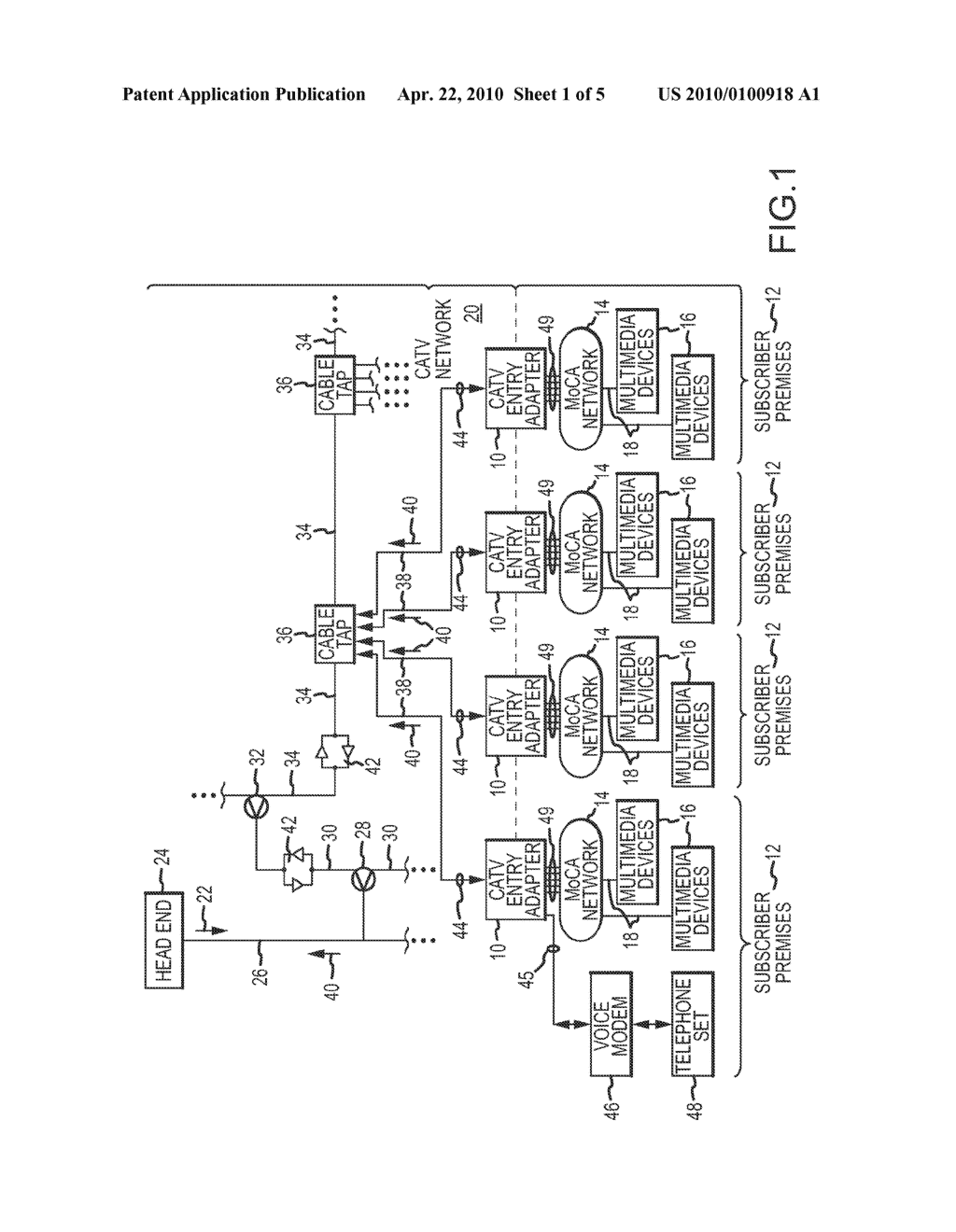 Moca Network Adapter Diagram Electrical Wiring Diagrams Tivo Multi Port Entry Hub And Method For Interfacing A Catv