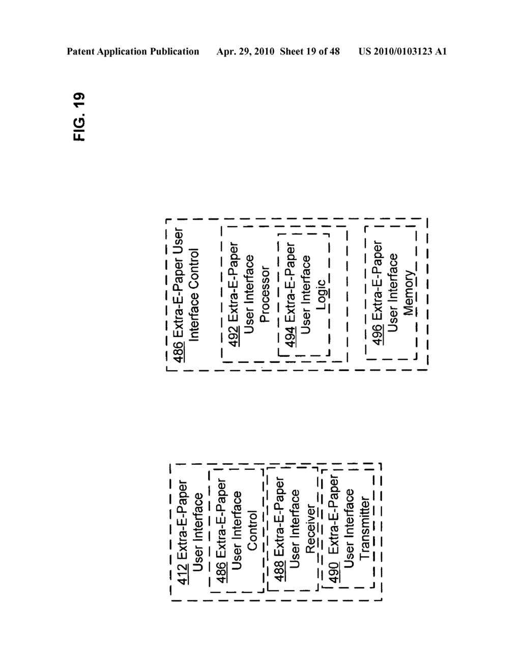 Bendable electronic device status information system and method - diagram, schematic, and image 20