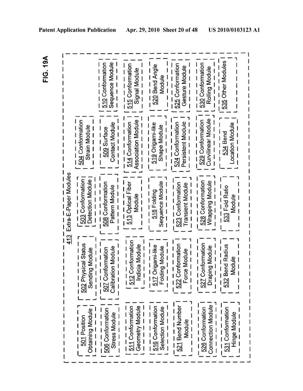 Bendable electronic device status information system and method - diagram, schematic, and image 21