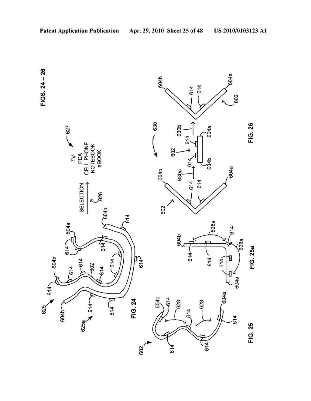 Bendable electronic device status information system and method - diagram, schematic, and image 26