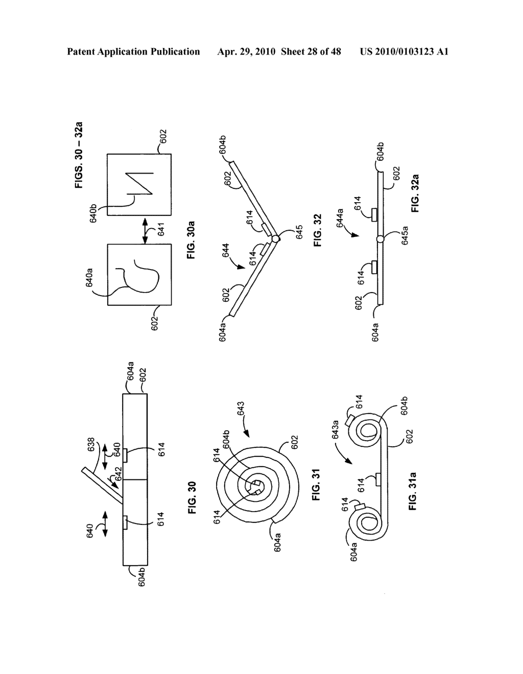 Bendable electronic device status information system and method - diagram, schematic, and image 29