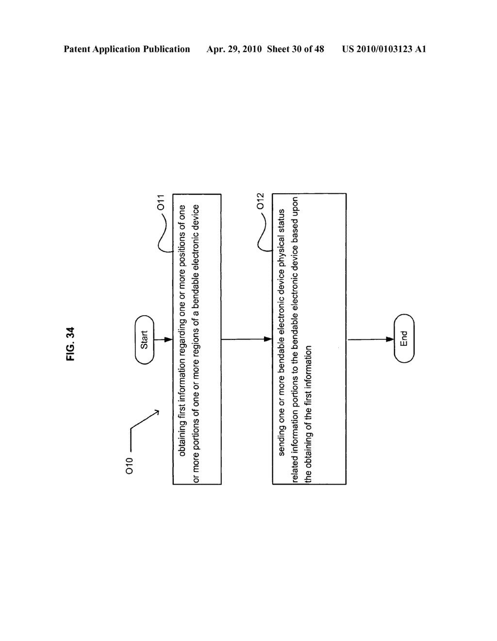 Bendable electronic device status information system and method - diagram, schematic, and image 31